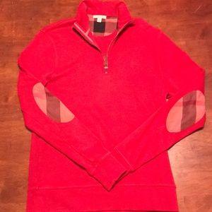 Burberry Brit 3/4 zip sweatshirt